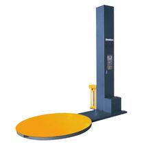 Enfundadora semiautomática / de alta velocidad / de film estirable / con plataforma giratoria