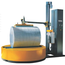 Envolvedora con plataforma giratoria / para bobinas de papel / de film estirable