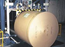 Flejadora vertical / para bobinas de papel / automática