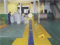 Transportador de rodillos / en V / horizontal / de transporte