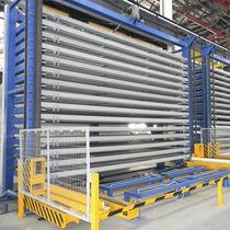 Sistema de almacenamiento vertical / para chapas