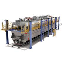 Plataforma de trabajo / para vehículo ferroviario / de largo alcance