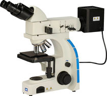Microscopio de inspección / con cámara digital / metalúrgico / recto