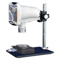 Microscopio óptico / para análisis / con cámara digital / de tratamiento de imágenes