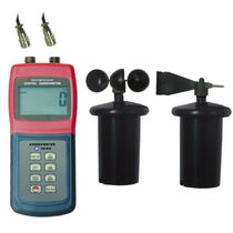 Anemómetro hélice / digital / portátil