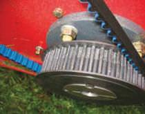 Correa de transmisión sincrono / de aislantes barnizada poliuretano
