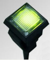 indicador LED montado en panel rectangular  LUMEX