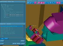 software de simulación de mecanizado CNC NC SIMULATOR TEBIS