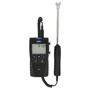 termómetro Pt100 / digital / portátil / con sonda de temperatura