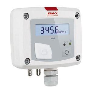 presostato para gas / electrónico / IP65 / con visualizador digital