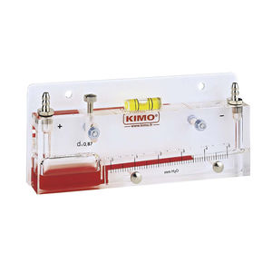 manómetro analógico / de columna de líquido / de proceso / de baja presión