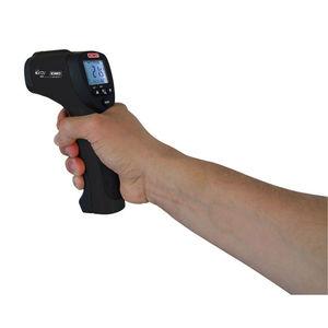termómetro de infrarrojos / digital / portátil / con doble puntero láser