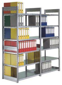 sistema de estanteras de oficina para cargas ligeras para archivo ajustable