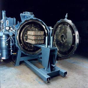 horno de vacío / para soldadura blanda / de cámara / de retorta rotativa
