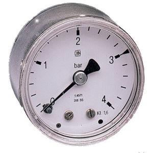 manómetro de esfera / de tubo Bourdon / de proceso / de acero inoxidable
