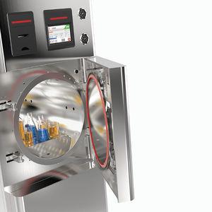 autoclave de laboratorio / de carga frontal / de alta presión / automático