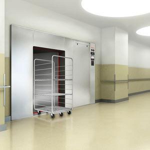 autoclave de laboratorio / de gran capacidad / con generador de vapor