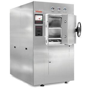autoclave de laboratorio / de carga frontal / de gran capacidad / de pie
