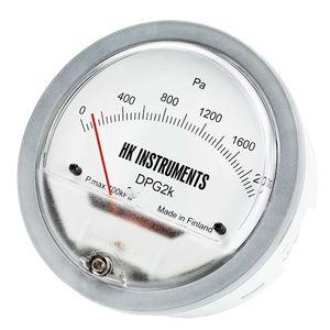 manómetro de esfera / de membrana / para aire / para HVAC