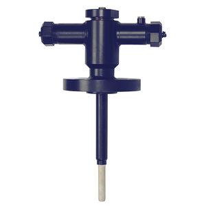 termopar / de inserción / de brida / con termopozo de zafiro
