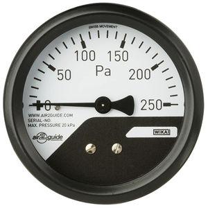 manómetro analógico / diferencial / para HVAC