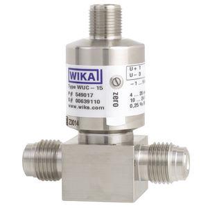 transductor de presión relativa / de capa fina / analógico / montado en panel