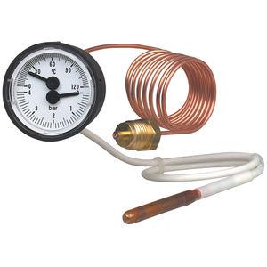 termómetro de sonda / analógico / para montaje en superficie / de esfera