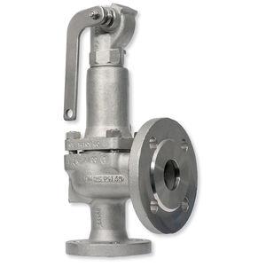válvula de seguridad con chapaleta / para vapor