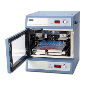 incubadora agitadora shaker de laboratorio / de convección natural / digital / para microplacas