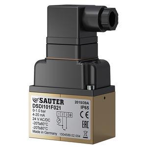transductor de presión diferencial / de membrana / analógico / IP65