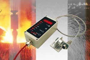 termómetro fijo / con pantalla extraíble / con fibras ópticas / industrial