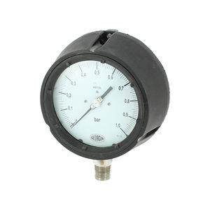 manómetro analógico / de membrana / para gas / de proceso