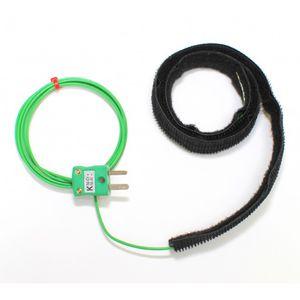 termopar tipo T / termopar tipo K / velcro / para tubos