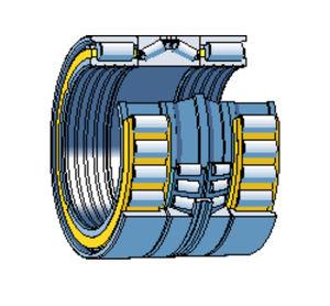 Rodamiento de rodillos cilíndricos / combinado / de conos / para rollos