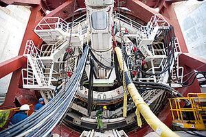 Tuneladora de presión de tierras