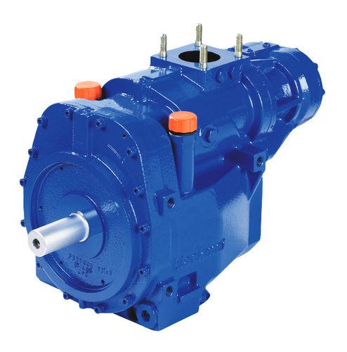 Compresor de aire / estacionario / con motor diésel / de tornillo B series MOUVEX