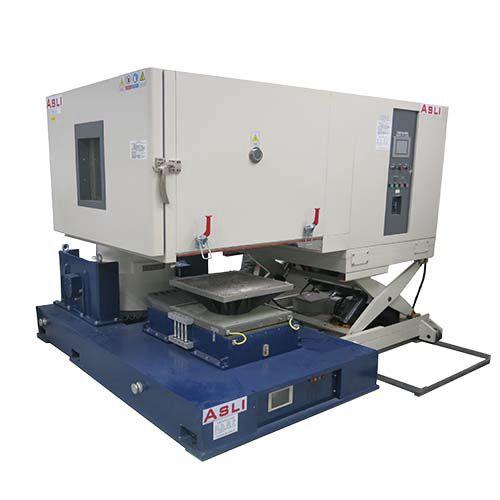 cámara de pruebas de vibraciones / con regulación climática y de temperatura