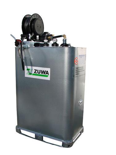 cuba de metal / de almacenamiento de gasóleo / de transporte / vertical