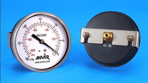 vacuómetro mecánico / analógico