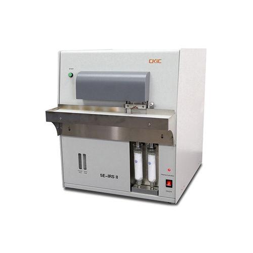 analizador de azufre / de carbón / de gas de combustión / de absorción infrarroja