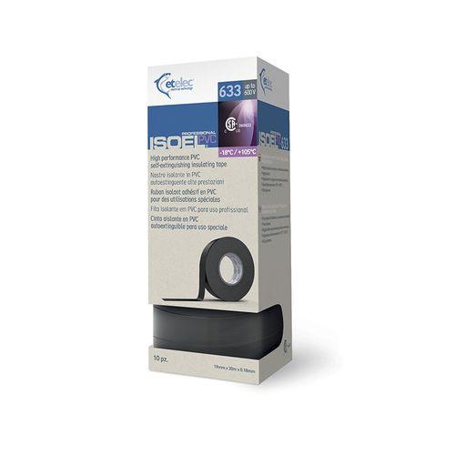 cinta adhesiva de PVC / para cables / aislante