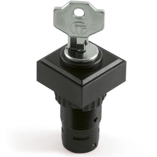 interruptor de llave / multipolar / con actuador separado / electromecánico