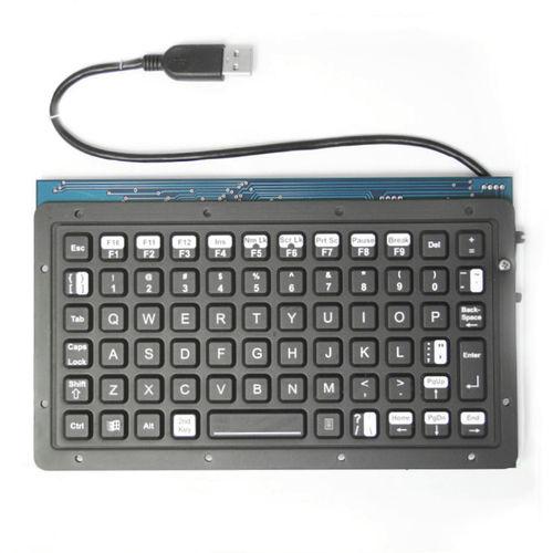 teclado empotrable / de tecla mecánica / 101-104 teclas / sin puntero