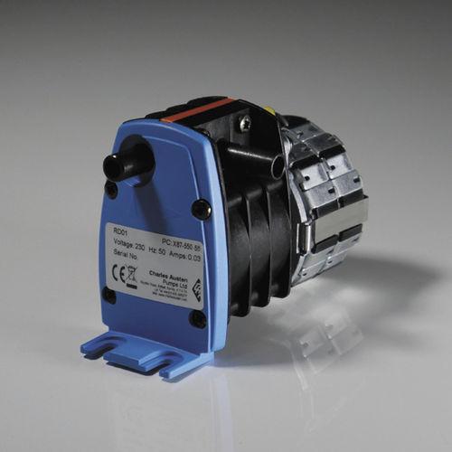 Bomba de agua / para productos agroalimentarios / eléctrica / autocebante RD01 Liquid Rotary Diaphragm Pumps CHARLES AUSTEN PUMPS LTD / BLUE DIAMOND PUMPS INC