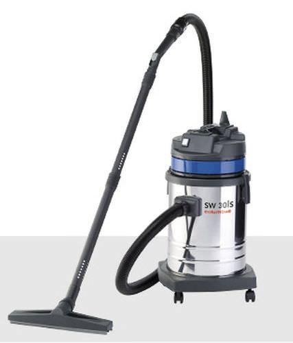 aspirador de agua y polvo / monofásico / industrial / móvil