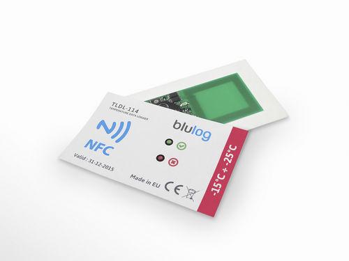 registrador de datos de temperatura - blulog