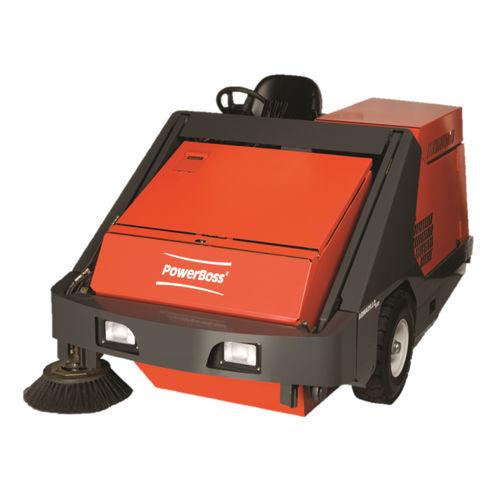 barredora con operador a bordo / eléctrica de batería
