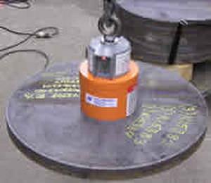 Electroimán de levantamiento tubulares 0 - 10 500 lbs | CER series WALKER MAGNETICS