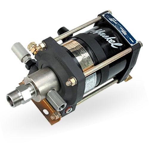 Bomba de agua / para productos químicos / accionada por aire / de pistón FD series Haskel International