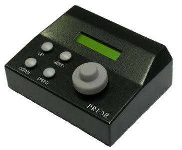 mando de puesta a punto de microscopios